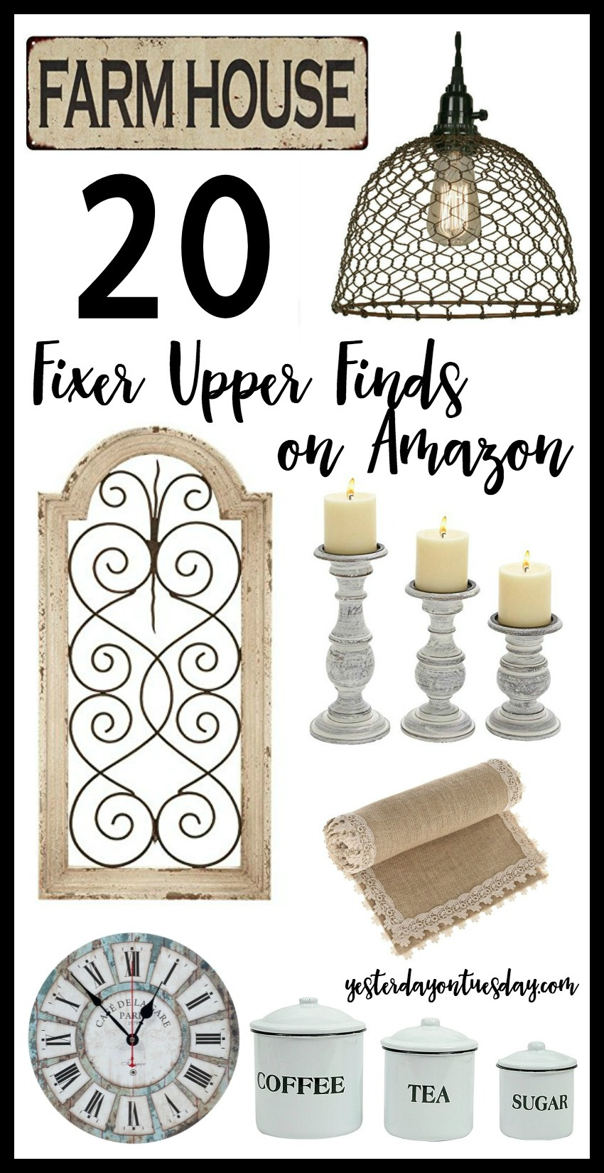 20 Modern Farmhouse Finds on Amazon