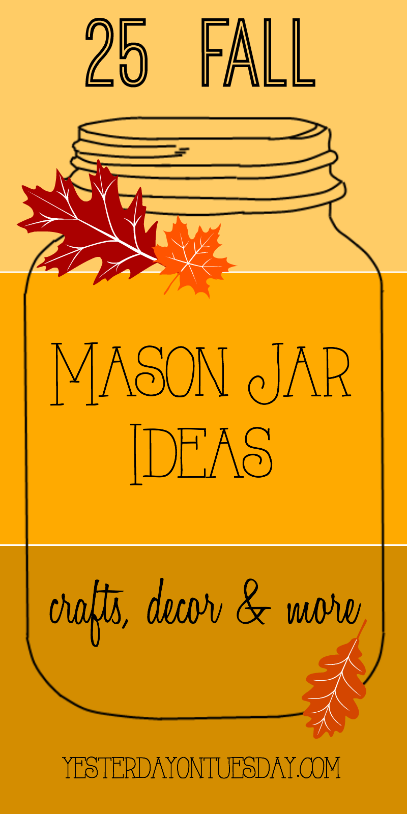 Fall Mason Jar Ideas