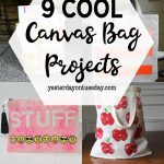 DIY Canvas Bag Projects
