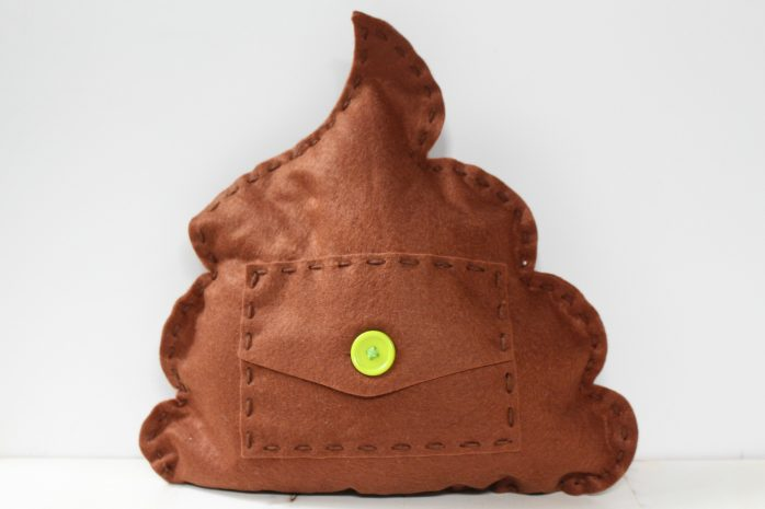 Poop Pillow Back