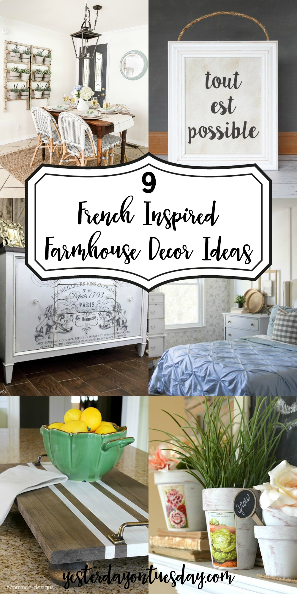 9 Lovely French Farmhouse Ideas