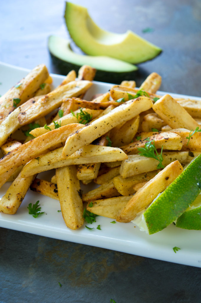 Cilantro Lime Fries