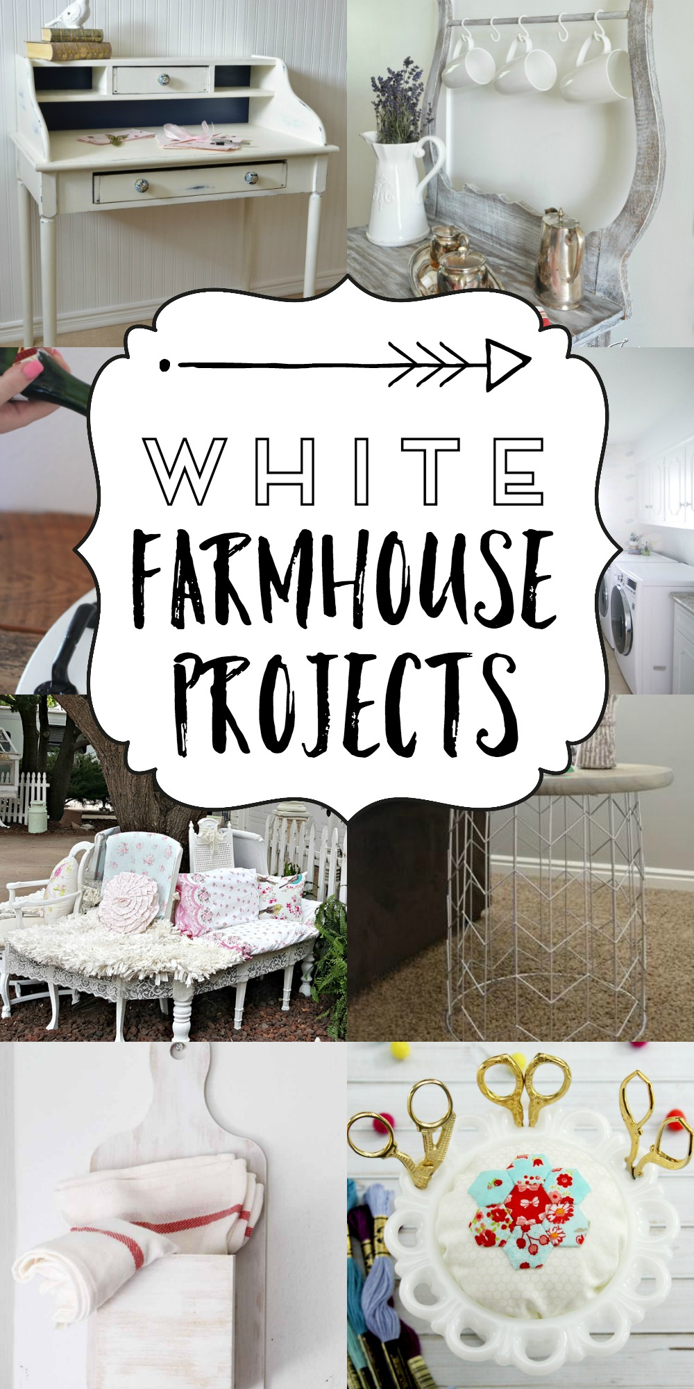Lovely White Farmhouse Projects
