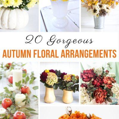 20 Gorgeous Autumn Floral Arrangements