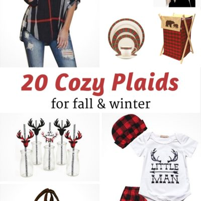 20 Cozy Plaids for Fall and Winter