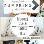 Fall DIY Modern Farmhouse Signs