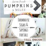 Fall DIY Modern Farmhouse Signs