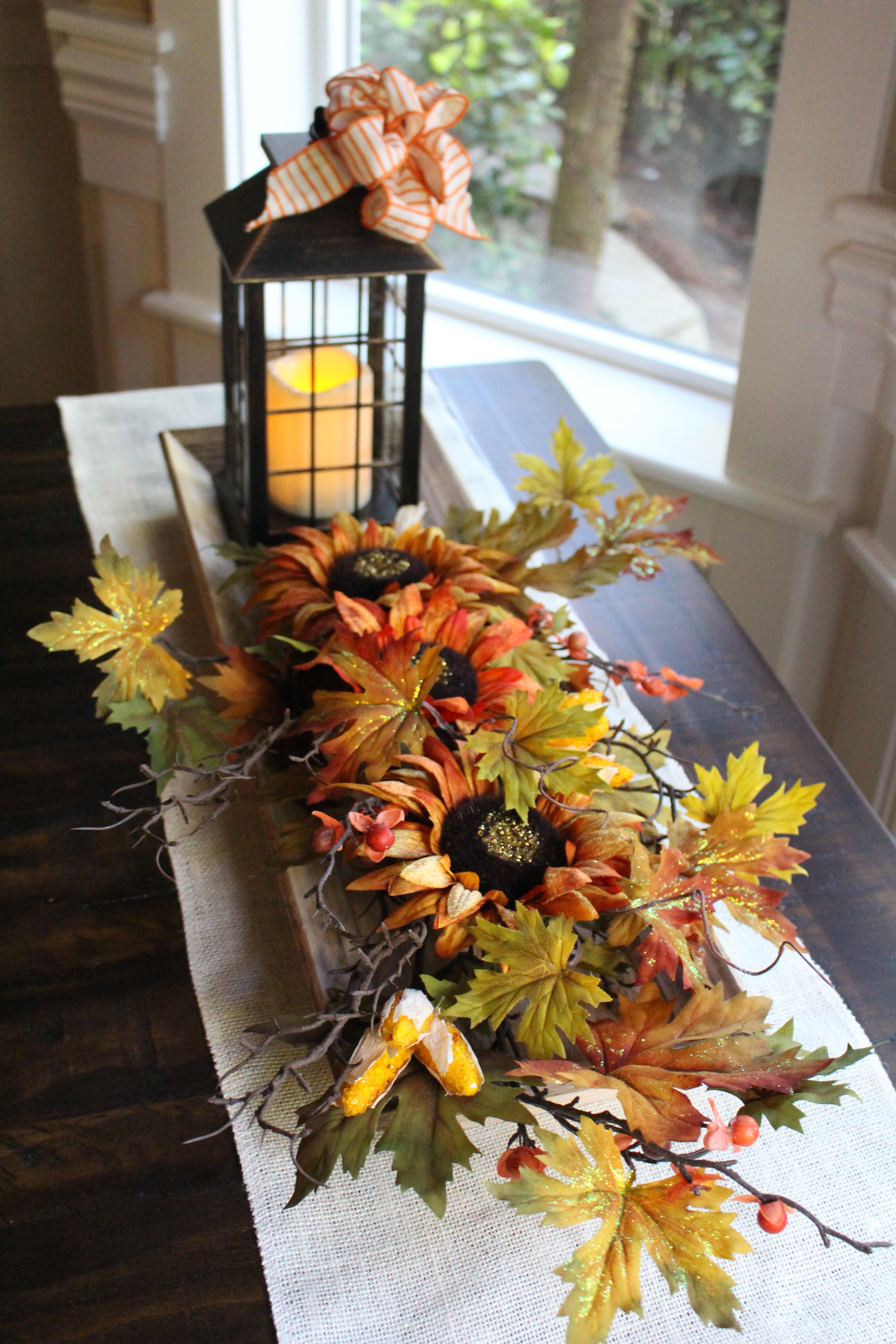 Fall Fixer Upper Style Tray