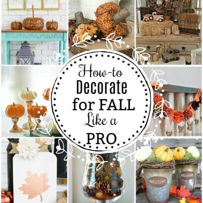 Pro Decorating Tips for Fall