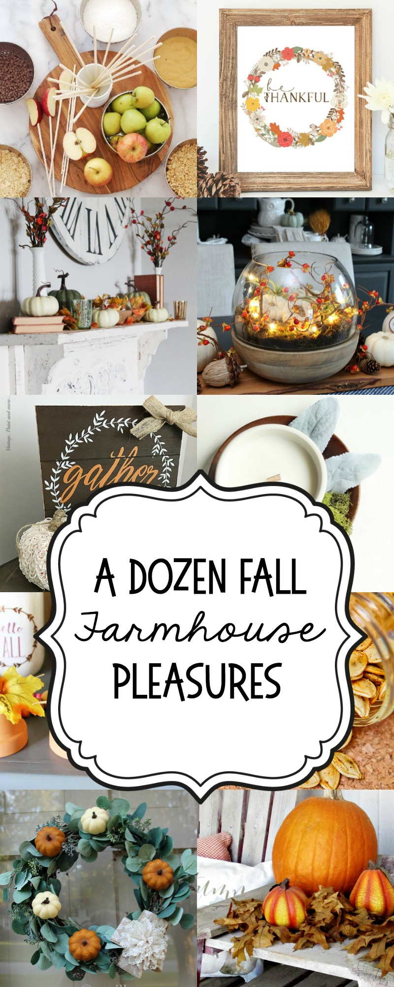 Fall Modern Farmhouse DIYS and Recipes