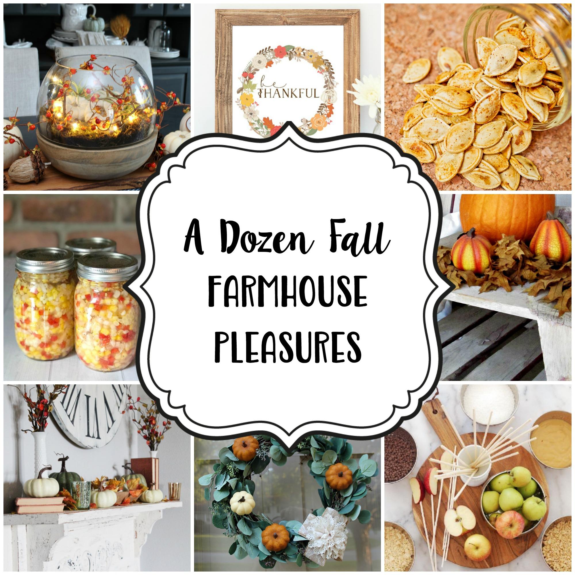 Fall Modern Farmhouse DIYS and Recipes