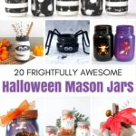 Frightfully Awesome Halloween Mason Jars
