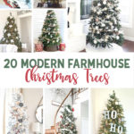 20 Modern Farmhouse Christmas Trees