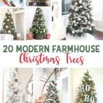 20 Modern Farmhouse Christmas Trees