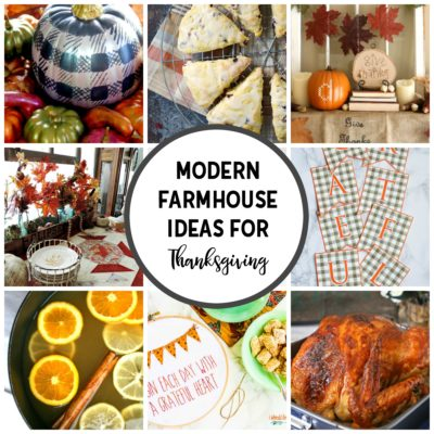 Fun Modern Farmhouse Ideas for Thanksgiving