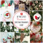 13 of the Cutest HandMade Christmas Ornaments Ever