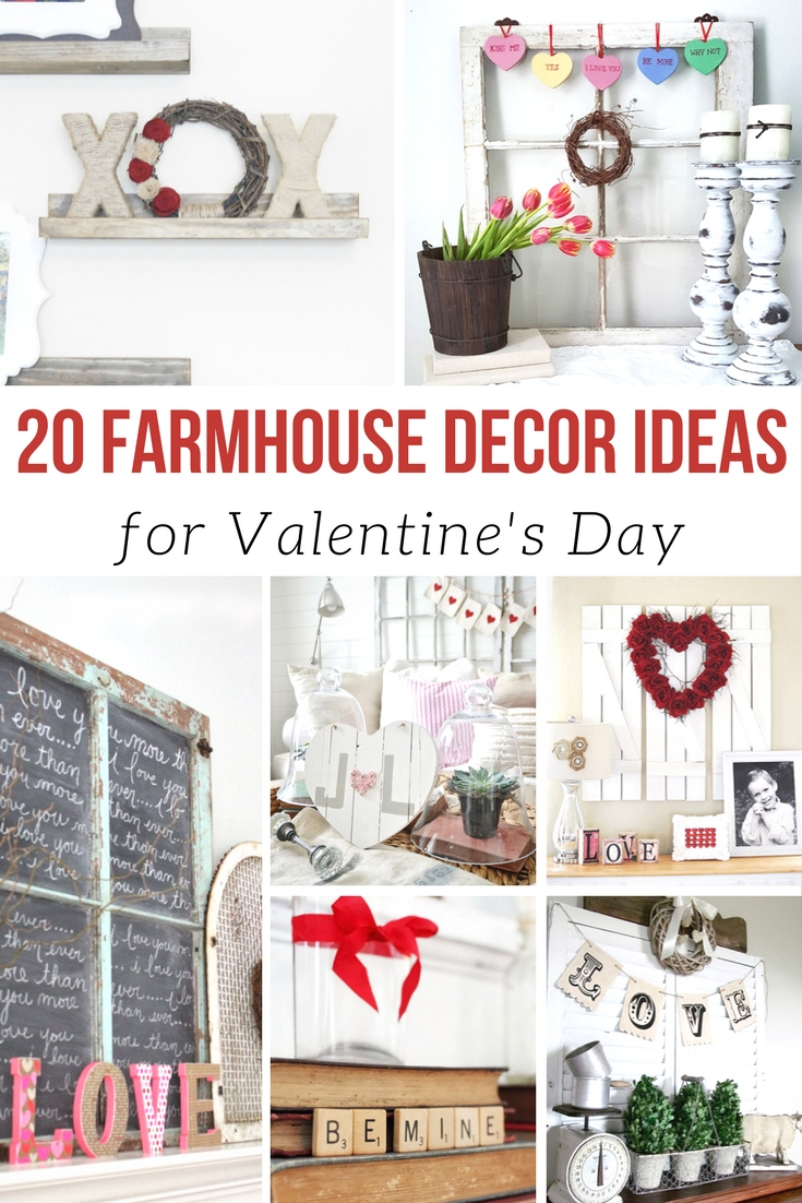 Farmhouse Valentine's Day Decor Ideas