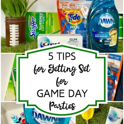5 Tips for Getting Set for Game Day Parties
