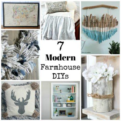 7 Modern Farmhouse DIYS