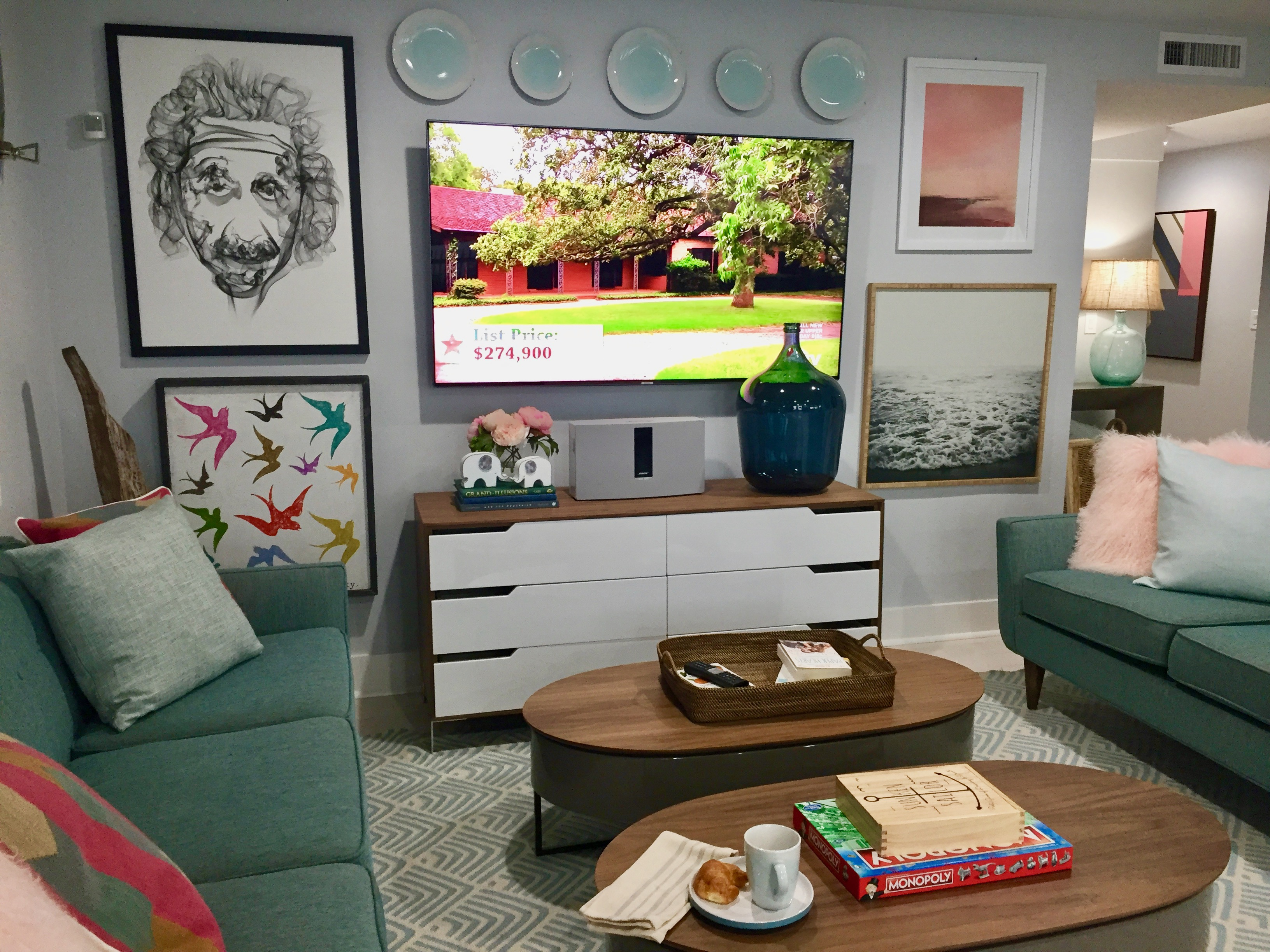 HGTV Dream Home TV Area