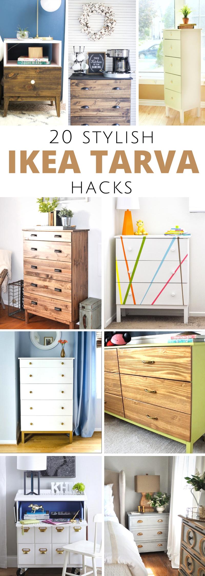 20 Ikea Tarva Hacks
