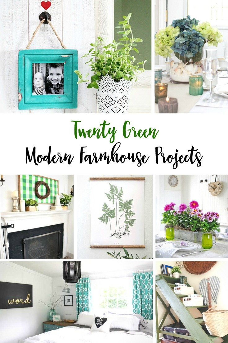 Green Modern Farmhouse Projects