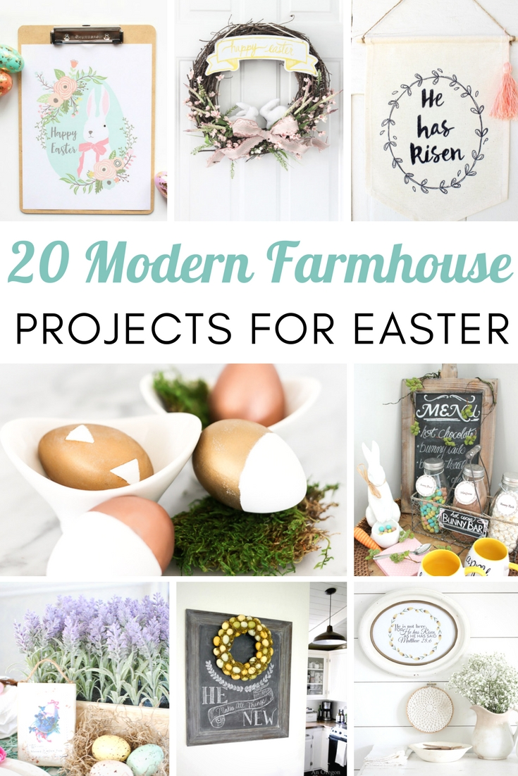 20 Modern Farmhouse Projects for Easter