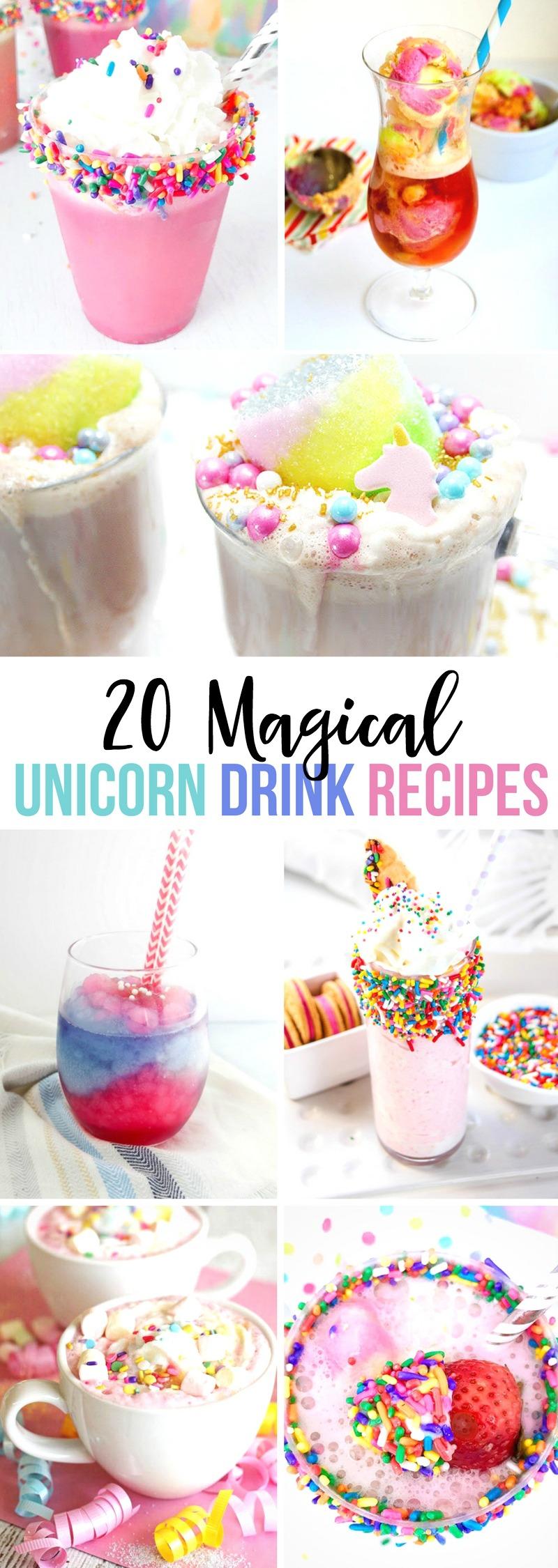 20 Magical Unicorn Drinks