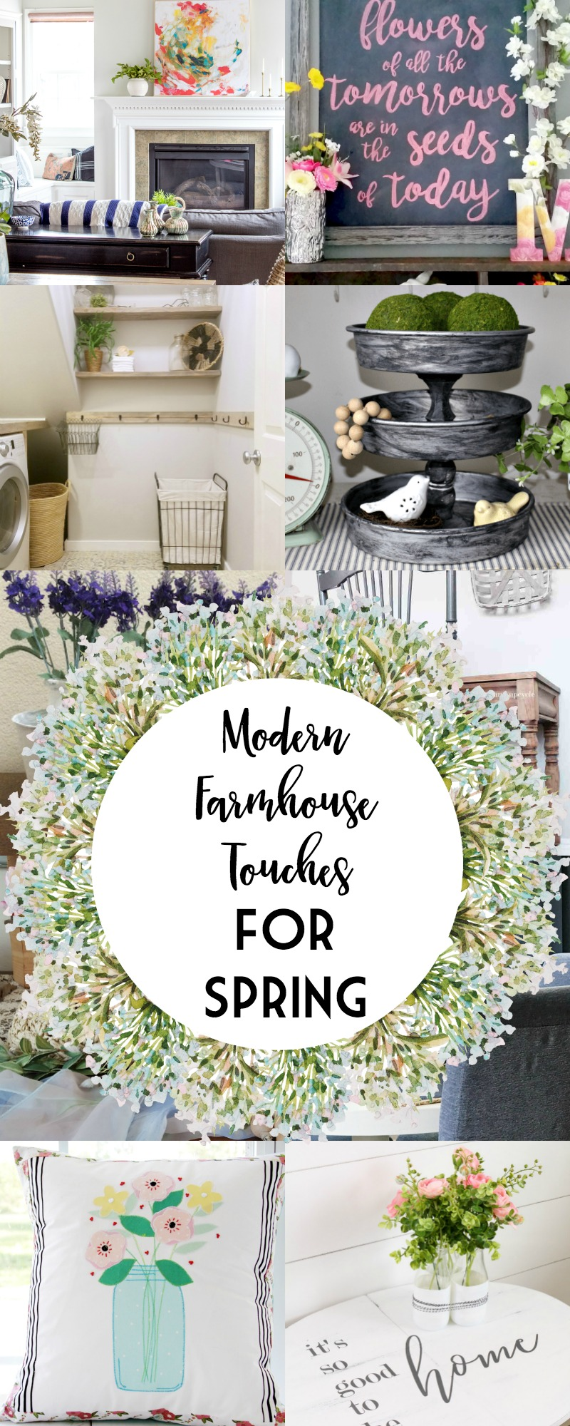 12 Modern Farmhouse Touches for Spring