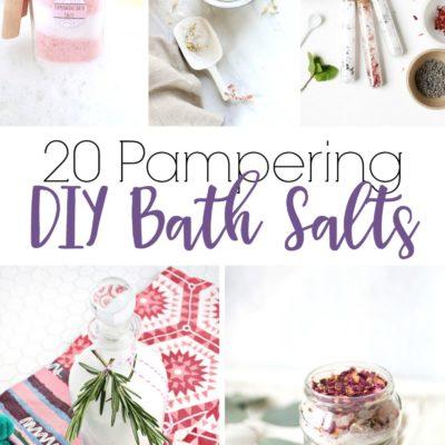 20 Pampering DIY Bath Salts