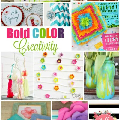 11 Ways to Decorate with BOLD Colors