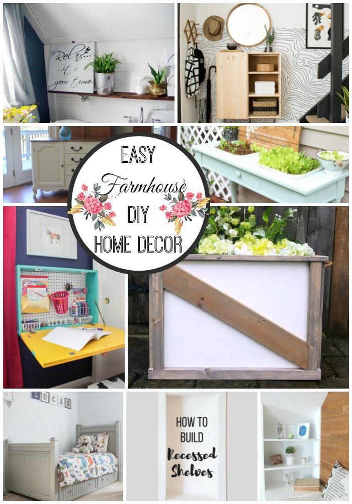 Easy Farmhouse DIY Home Decor