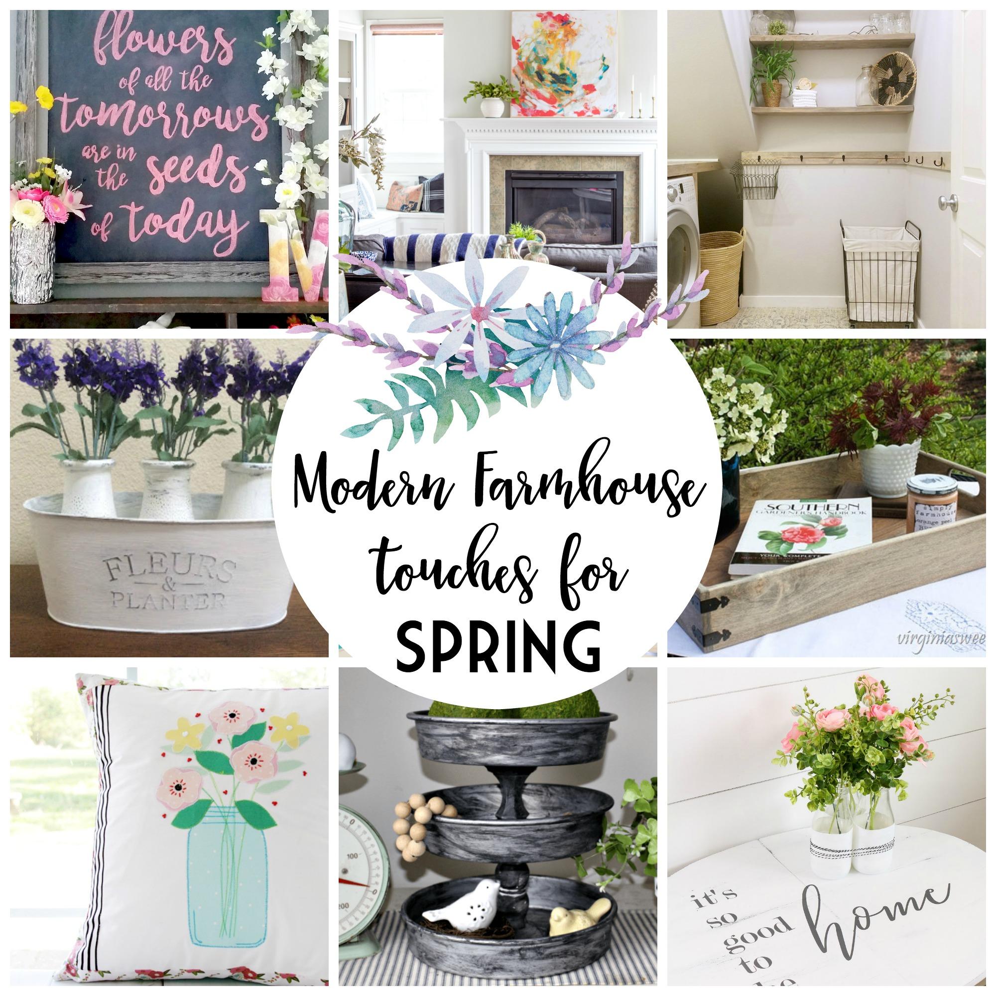 Modern Farmhouse Touches for Spring