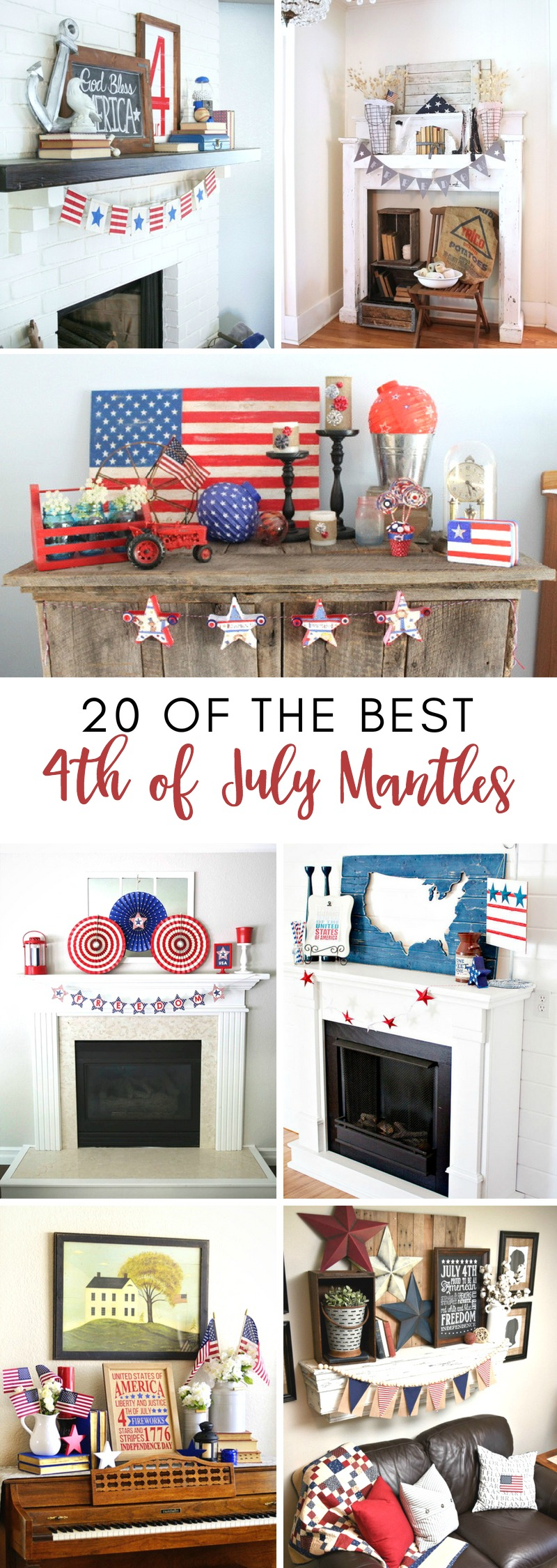 4th Of July Mantels