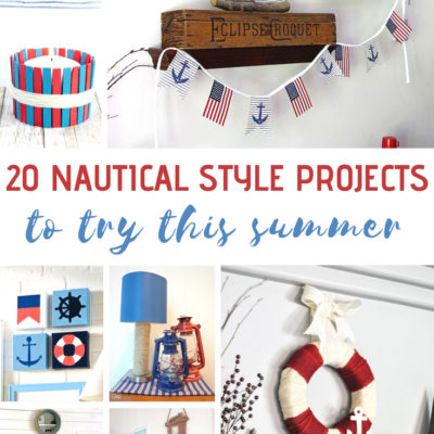 20 Nautical Style Projects to Try This Summer