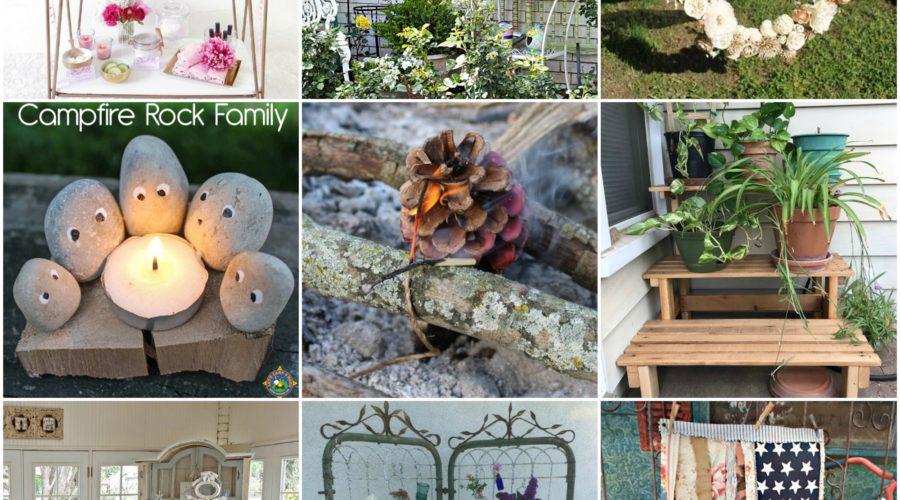 Summer Decor and Outdoor Fun Ideas