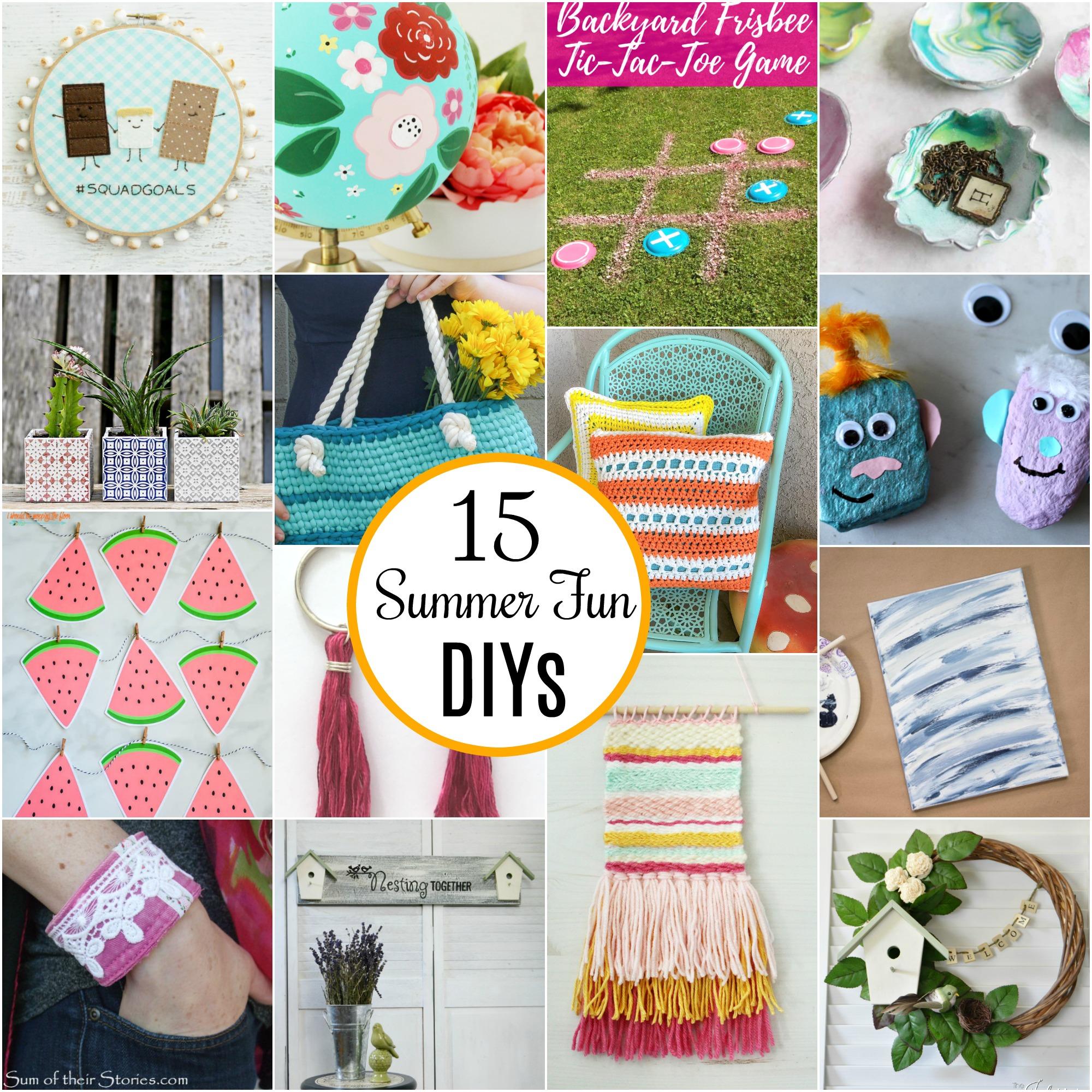 15 Fun Summer DIYs
