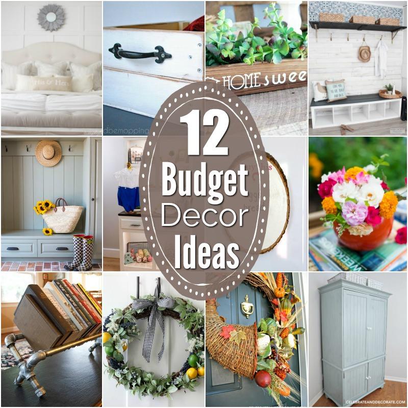 12 Budget Decor Ideas