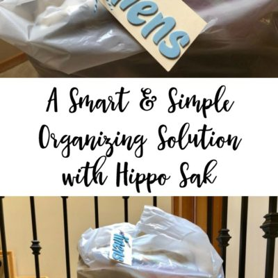 A Smart & Simple Organizing Solution with Hippo Sak