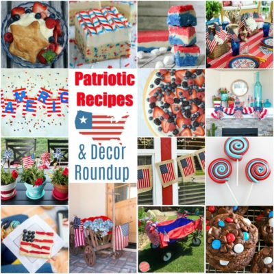 Patriotic Recipes and Decor