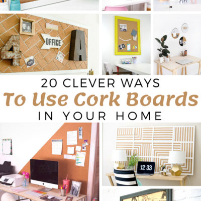 20 Ways to Use Cork Boards in Your Home
