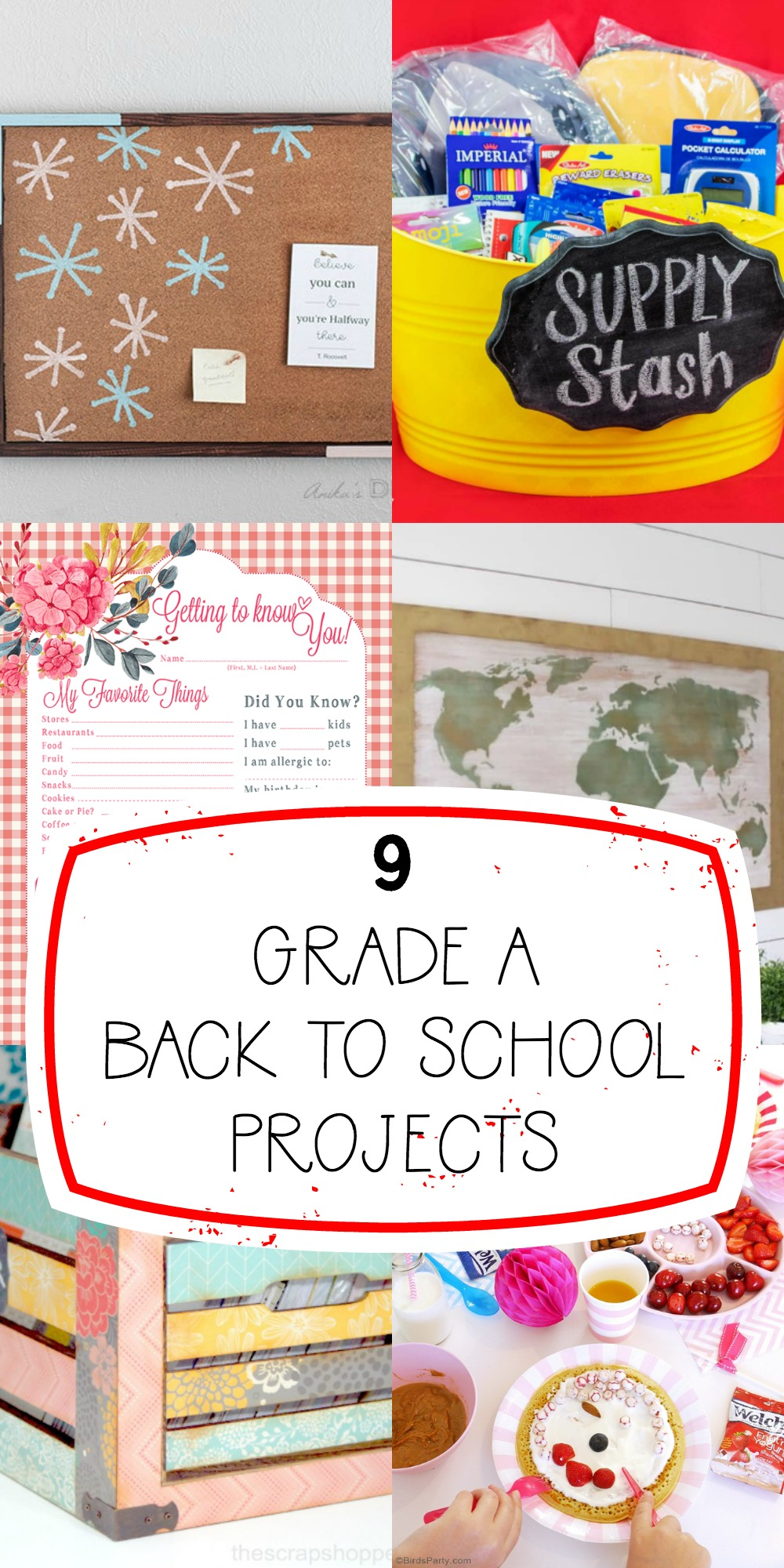 Grade A Back to School Projects