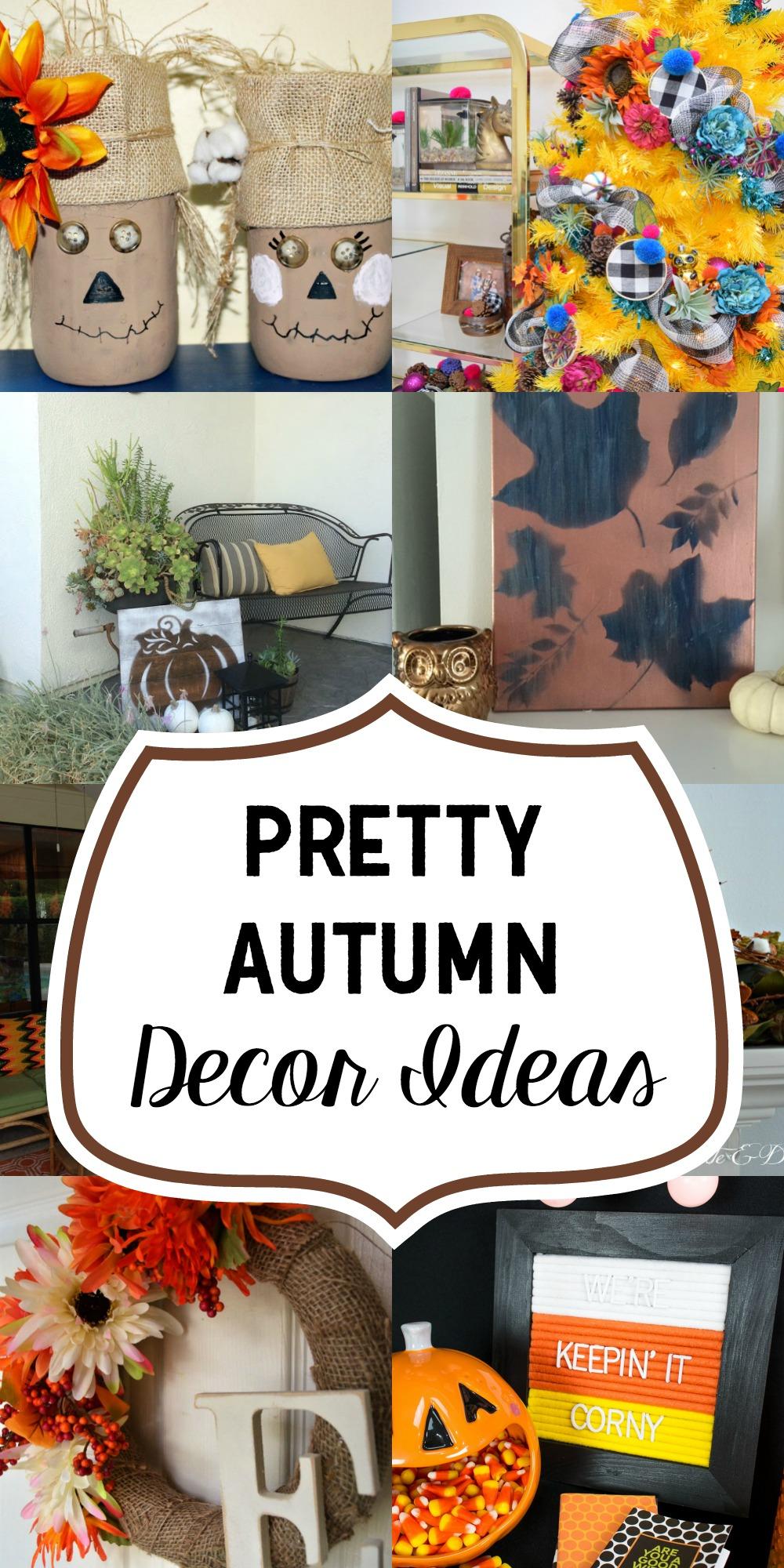 Pretty Autumn Decor Ideas
