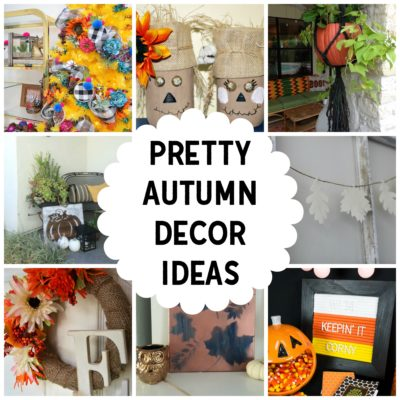 Fall in Love with these Pretty Autumn Decor Ideas