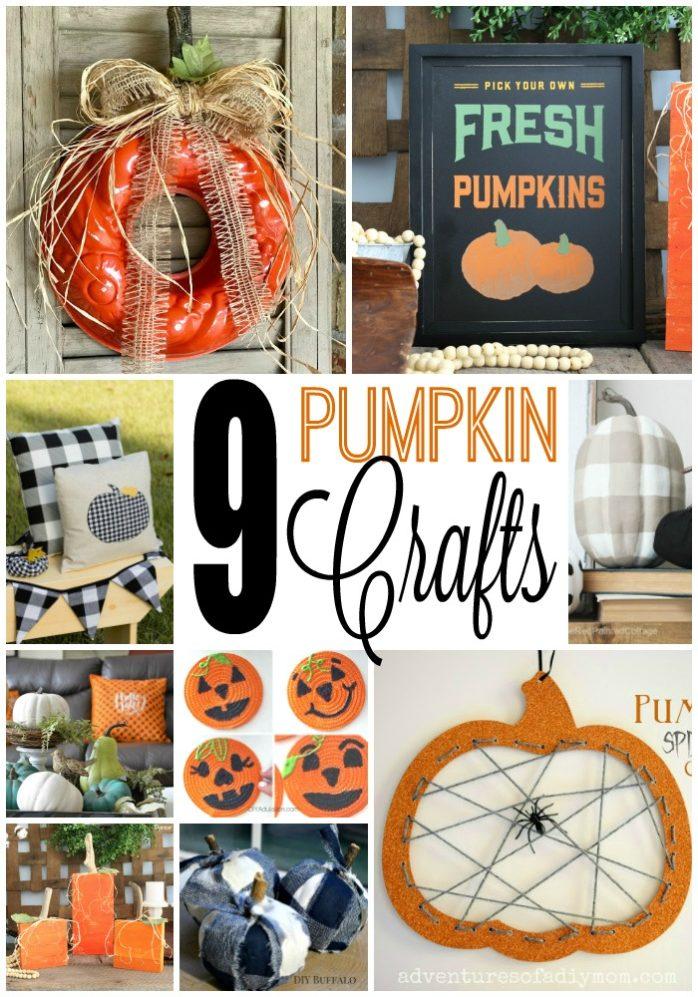 9 Pumpkin Crafts