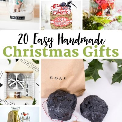 20 Easy Handmade Christmas Gifts