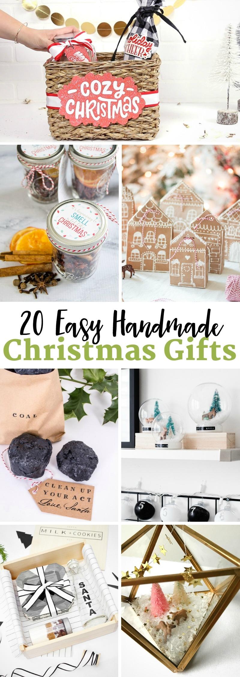 Easy Handmade Christmas Gifts