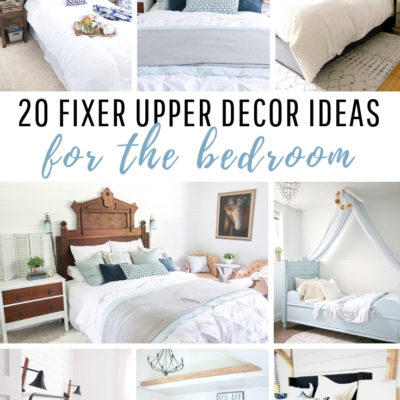 20 Fixer Upper Decor Idea for the Bedroom