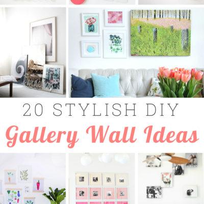 20 Stylish Gallery Wall Ideas