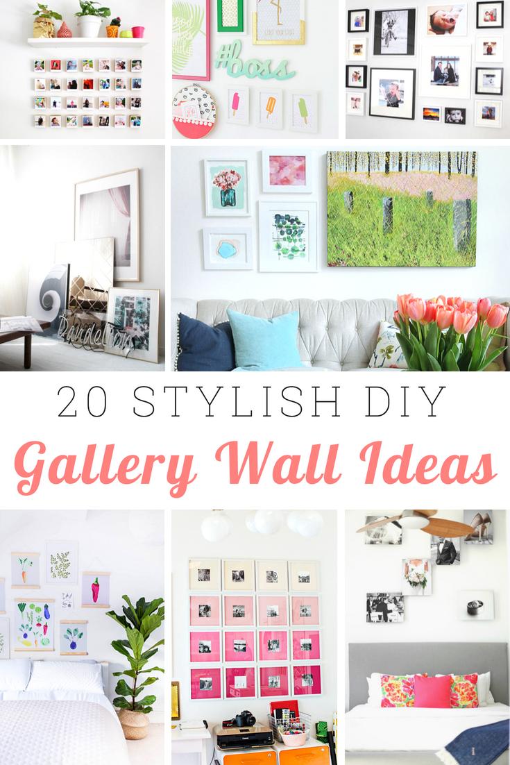 Stylish Gallery Wall Ideas